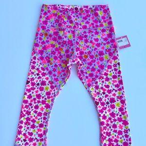 NWT Kate Spade Athleisure floral leggings small